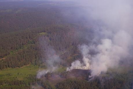 ВПриангарье для тушения лесных пожаров планируется использовать установку искусственного вызывания дождя