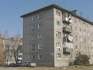 Жилой дом на территории ИВВАИУ в Иркутске. Фото из архива АС Байкал ТВ
