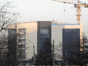 Здание новой библиотеки. Фото Анастасии Украинской