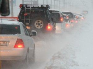Снегопад в Иркутске. Фото Владимира Смирнова