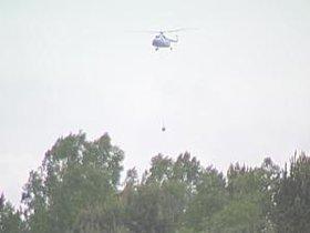 Вертолет Иркутской базы авиационной охраны лесов. Фото из архива АС Байкал ТВ