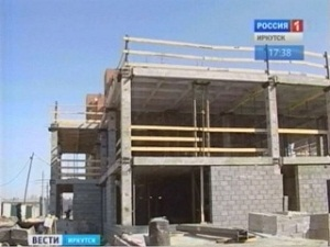 Строительство детского сада. Фото Вести-Иркутск
