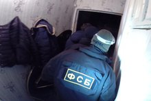 Задержание. Фото пресс-службы УФСБ России по Иркутской области