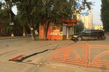 На месте происшествия. Фото из группы «ДТП 38RUS Иркутск»