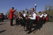 Городской эстрадный оркестр. Фото предоставлено МАУ «Праздник»