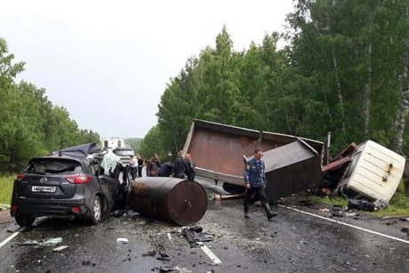 ВПриангарье в трагедии погибла женщина-пассажир