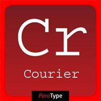 «Курьер», иллюстрация ссайта myfonts.com/fonts/paratype/courier/