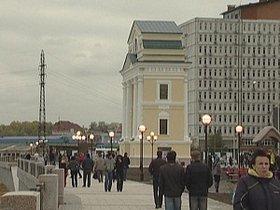 Берегоукрепление набережной Ангары в Иркутске продолжится