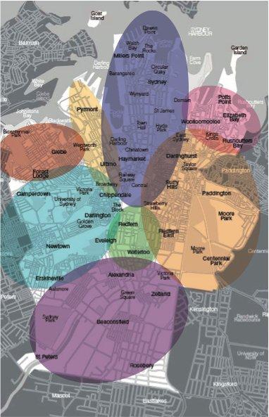 Районы Сиднея
