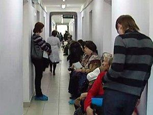 В иркутской поликлинике. Фото «АС Байкал ТВ»
