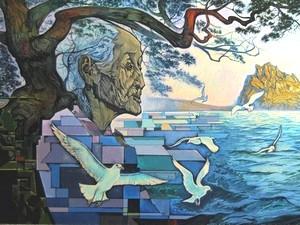 Картина Виктора Жидяева. Изображение предоставлено организаторами выставки