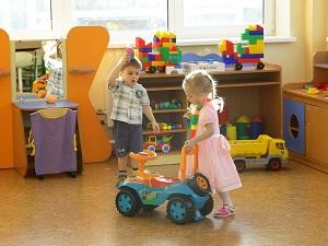 В детском саду. Фото Александра Шудыкина