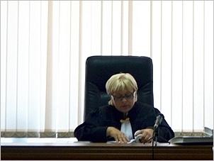 Судья Нина Полканова. Фото IRK.ru