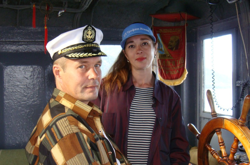 Екатерина Удеревская и ее муж Андрей Кононенко. Фото из личного архива