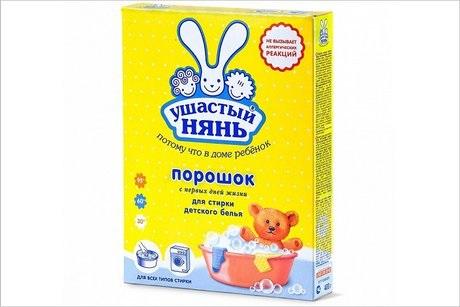 Произведенный вАнгарске стиральный порошок «Ушастый нянь» получил признание  токсичным