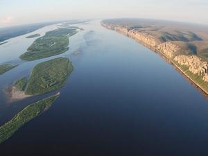 Река Лена. Изображение с сайта fotki.yandex.ru