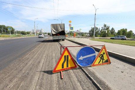НаБайкальской восстанавливают слой износа дороги