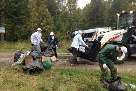 Собрать 30 тыс. мешков мусора за360 мин. — Акция наБайкале