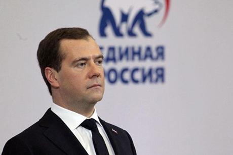 Медведев заявил опобеде «Единой России» навыборах
