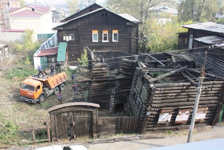 Квывозу и реконструкции готовят дом Шубиных вИркутске