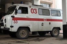 """Машина скорой помощи. Фото ИА """"Иркутск онлайн"""