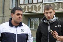 Евгений Щеголихин и Вячеслав Трубчанин. Скриншот видео