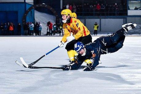Иркутская «Байкал-Энергия» выиграла 1-ый матч Кубка Российской Федерации похоккею смячом