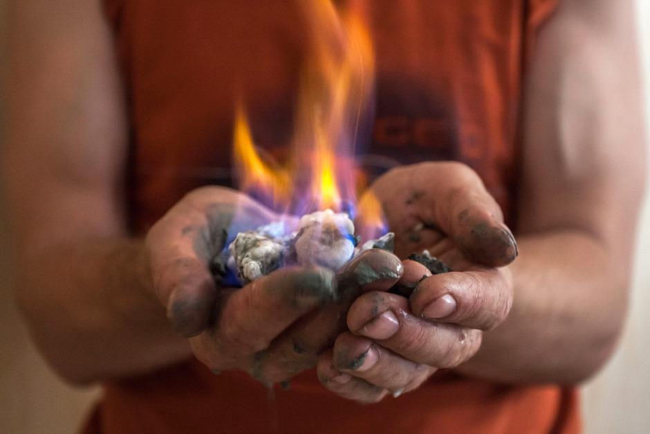 Газогидраты – ископаемый огонь Байкала