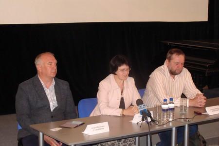 Пресс-конференция с Александом Новотоцким