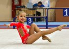 Юная гимнастка. Фото Юрия Назырова