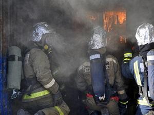 Не тренировке. Фото с сайта www.38.mchs.gov.ru