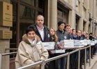 Передача подписей в Москве президенту. Фото предоставлено общественной организацией «Родительское Всероссийское Сопротивление».