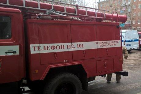 Мужчину спасли отпадения сбалкона четвертого этажа вИркутске