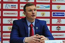 Алексей Исаков. Фото пресс-службы ХК «Ермак»