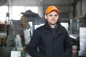 Коммерческий директор «Стекольной компании» Евгений Тучков