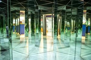Зеркальный лабиринт. Фото из портфолио «Стекольной компании»