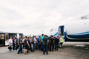Почти через два часа рейс Иркутск-Мирный прибудет в пункт назначения.