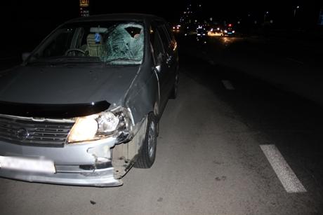 ВАнгарском районе шофёр автомобиля Ниссан Liberty насмерть сбил 68-летнего пешехода
