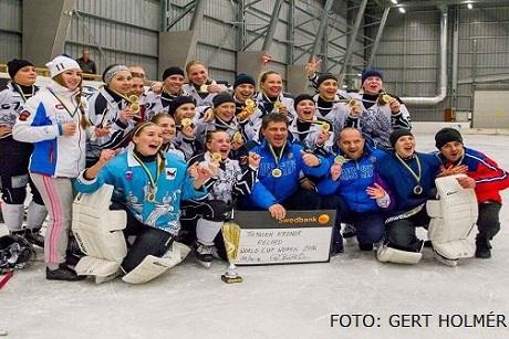 Иркутская команда ДЮСШ «Рекорд» выиграла Кубок мира среди женщин