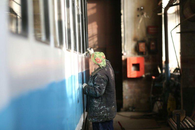 5 трамваев, подаренных Москвой Иркутску, готовятся квыходу налинию