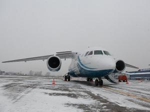Самолет Ан-148. Фото предоставлено пресс-службой губернатора и правительства Иркутской области
