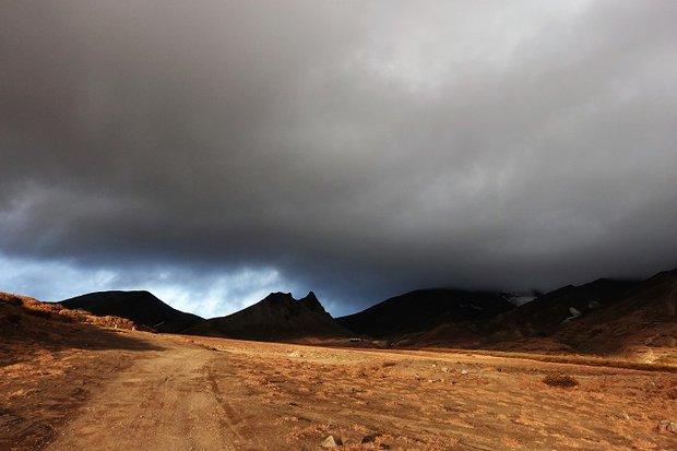 У подножья вулкана Авачинский