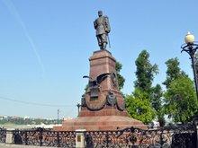 Памятник Александру Третьему. Фото IRK.ru