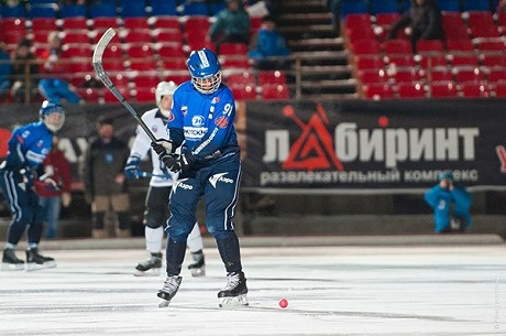 «Байкал-Энергия» разгромил «Сибсельмаш» вматче чемпионата Российской Федерации похоккею смячом