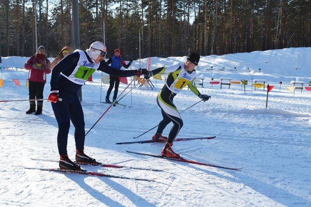 На лыжной базе «Динамо». Фото ГУ МВД России по Иркутской области