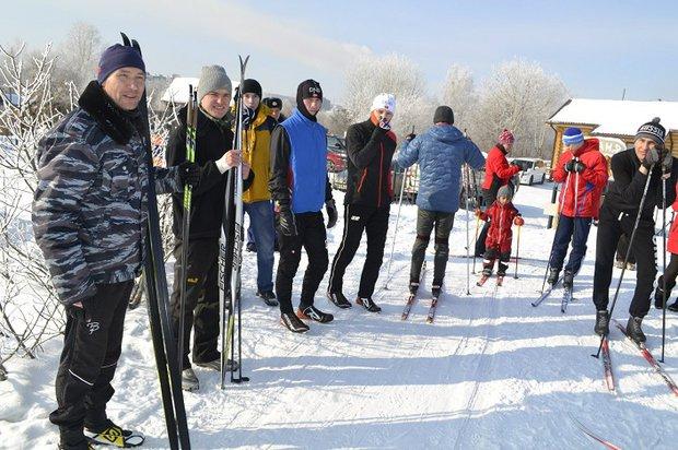 """Фото из группы спорт-парка """"Поляна"""" """"Вконтакте"""""""