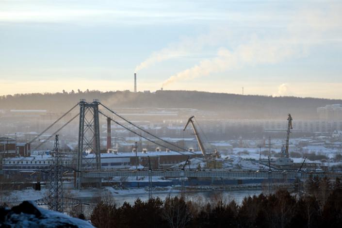 В Иркутске. Фото Владимира Смирнова