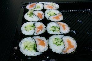 Редакции надоела японская еда.