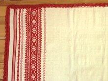 Салфетка, изготовленная при помощи ручного ткацкого станка. Фото с сайта www.ocnt.isu.ru