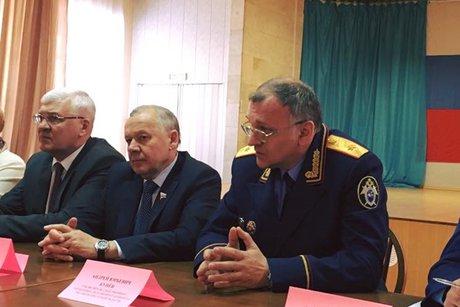Виталий Шуба иСергей Брилка обсудили кадетское образование вИркутской области